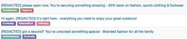 Emotion Fueled Subject Lines